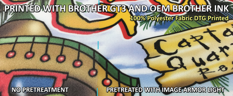 How To Print 100% Polyester Shirts With Your Brother GT3 DTG Printer