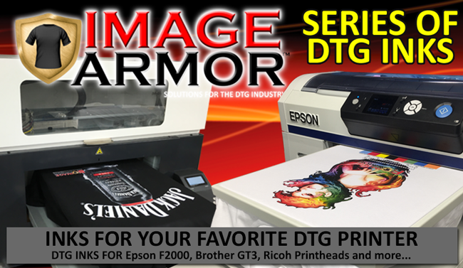 Image Armor Series of DTG Inks