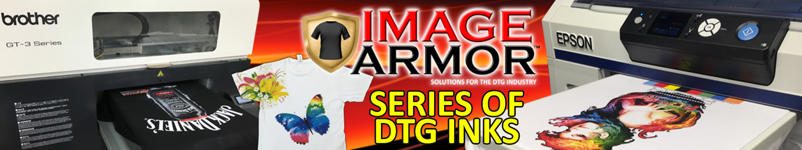 Image Armor Direct To Garment Series of DTG Inks