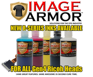 Ricoh Print Head R-Series Inks