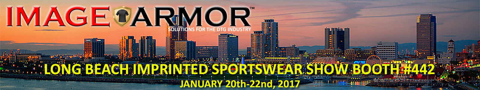 2017 Long Beach Imprinted Sportswear Show Image Armor