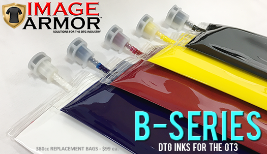 Image Armor B-Series Inks Now Available in Canada Through DTGInkCanada.com