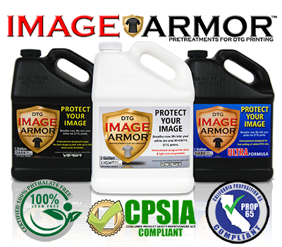 Image Armor Pretreatments California Proposition 65 Compliant