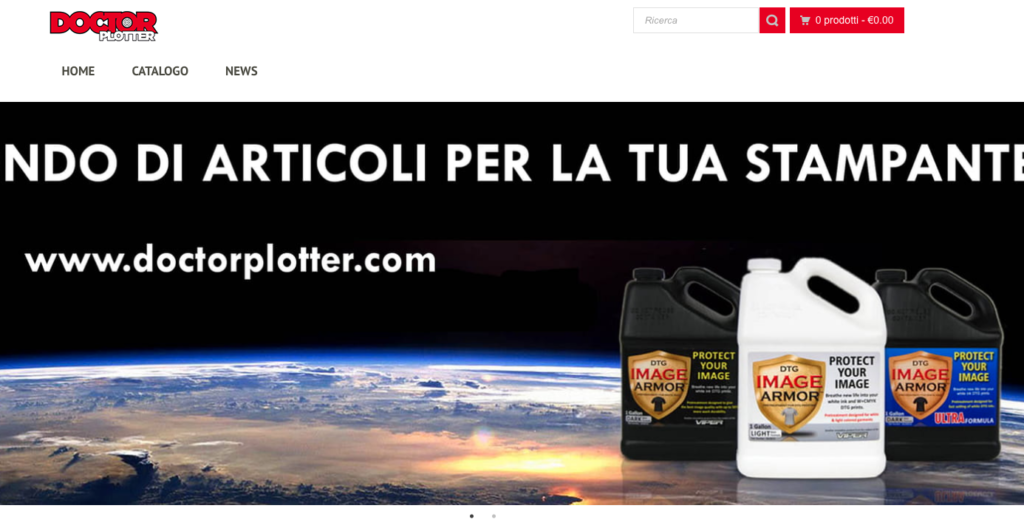 Image Armor Products Available in Italy Through DoctorPlotter.com