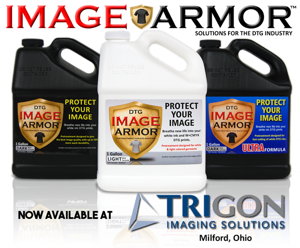 Trigon Imaging Solutions the Newest Image Armor Pretreatment Dealer