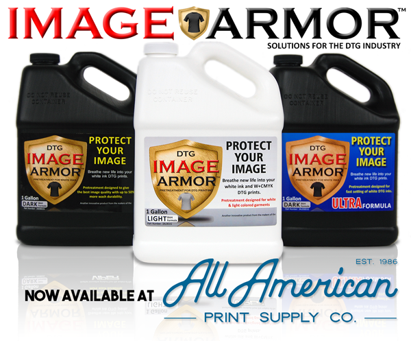 All American Print Supply and Image Armor Pretreatment TRY BEFORE YOU BUY Free Samples